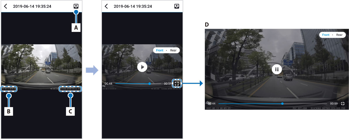 blackvue-app-video-time-gps-data-capture